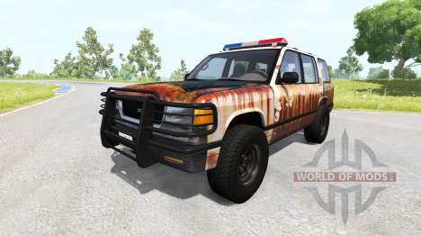 Gavril Roamer Rusted Sheriff for BeamNG Drive