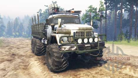 ZIL-131A for Spin Tires