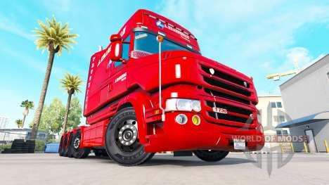 A. Krabbendam skin for truck Scania T for American Truck Simulator