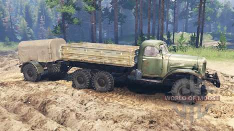 ZIL-157 for Spin Tires