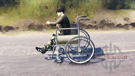 Wheel chair access for Spin Tires
