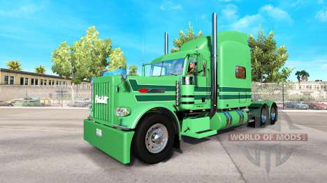 Skin A. J. Lopez for the truck Peterbilt 389 for American Truck Simulator