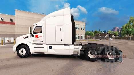 Skin Kmart for Peterbilt and Kenworth trucks for American Truck Simulator