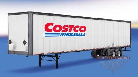 All-metal semitrailer. for American Truck Simulator