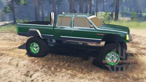 Jeep Grand Cherokee Comanche 4x4 for Spin Tires
