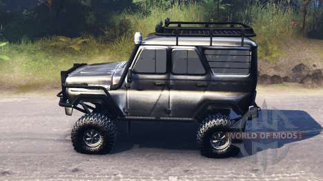 UAZ-315195 hunter for Spin Tires