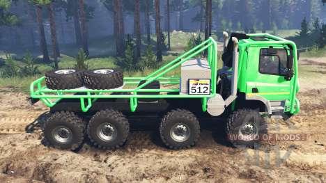 Tatra Phoenix T 158 8x8 for Spin Tires