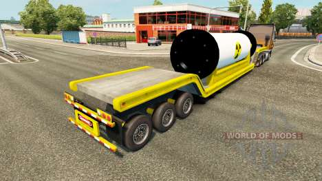 Tral with a nuclear reactor for Euro Truck Simulator 2