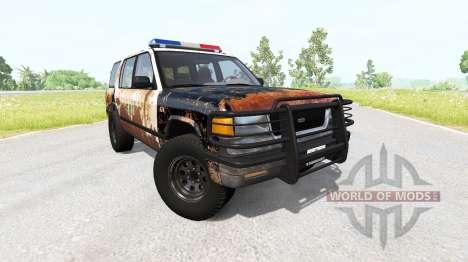 Gavril Roamer Rusted Sheriff for BeamNG Drive