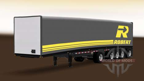 Trailer Mac Curtain Multiaxles for American Truck Simulator