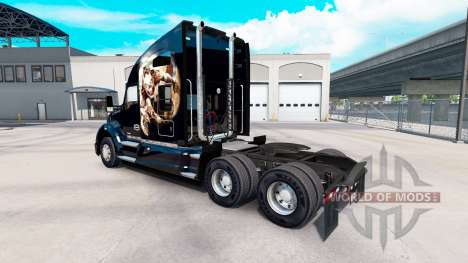 Skin Himera on a Kenworth tractor for American Truck Simulator