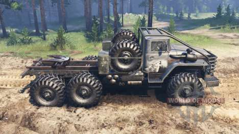 Ural-4320-10 Tungus for Spin Tires
