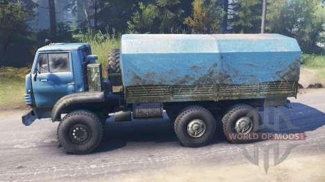 Ural-4322А v2.0 for Spin Tires