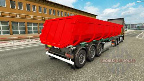 A semi-truck for Euro Truck Simulator 2