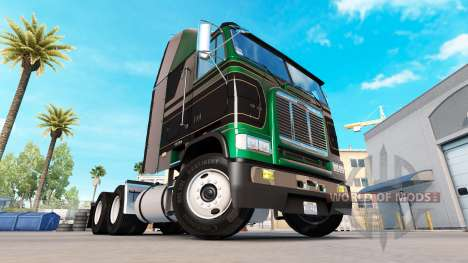 Skin Pure Vintage tractor Freightliner FLB for American Truck Simulator