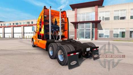 Cowboy skin for the truck Peterbilt for American Truck Simulator