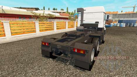 KamAZ-54115 turbo for Euro Truck Simulator 2