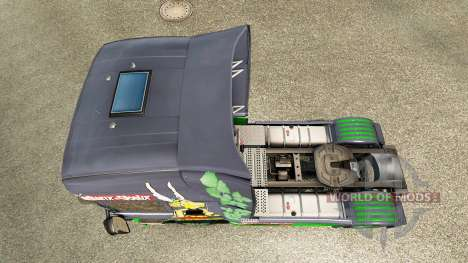 Asterix skin for Scania truck for Euro Truck Simulator 2