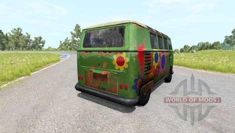 Volkswagen Transporter Bulli for BeamNG Drive