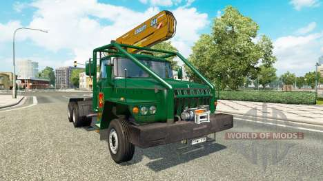 Ural 43202 v7.5 for Euro Truck Simulator 2