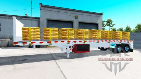 A collection of semi-platforms for American Truck Simulator