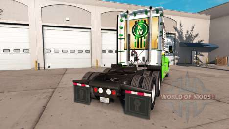 Skin Gold Edition tractor Kenworth for American Truck Simulator
