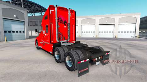 Skin the Chicago Bulls on tractor Kenworth for American Truck Simulator