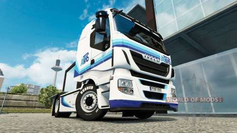 Ital trans skin for Iveco tractor unit for Euro Truck Simulator 2