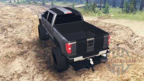 Chevrolet Silverado 3500 HD for Spin Tires