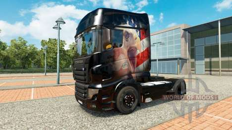 A collection of skins for Scania R700 truck for Euro Truck Simulator 2
