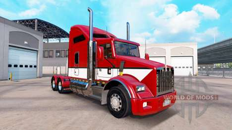 Skin Stripes v4.0 tractor Kenworth T800 for American Truck Simulator