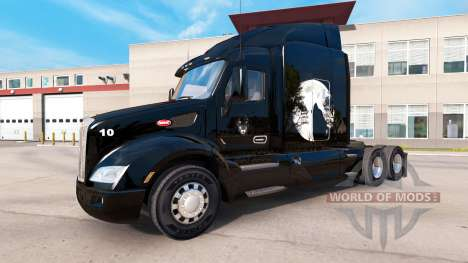 Wolf skin for the truck Peterbilt for American Truck Simulator