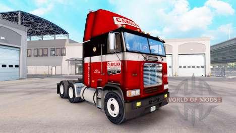 Skin at Carolina tractor Freightliner FLB for American Truck Simulator