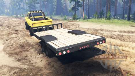 Ford F-250 1972 4x4 for Spin Tires