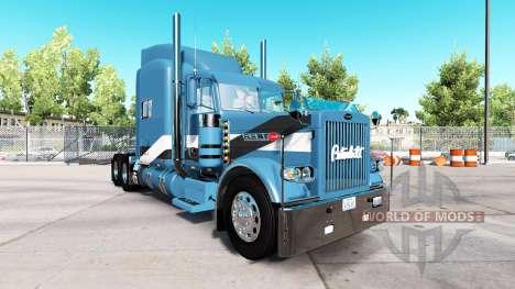 2Tone skin for the truck Peterbilt 389 for American Truck Simulator