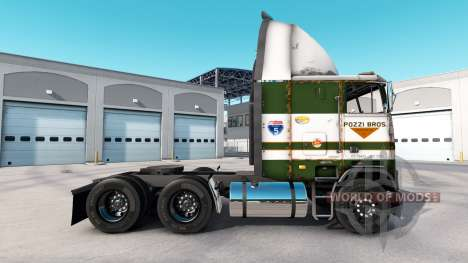 Skin POZZi for truck Freightliner FLB for American Truck Simulator
