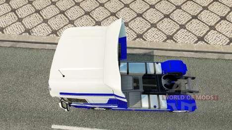 DastagirTrans skin for DAF truck for Euro Truck Simulator 2