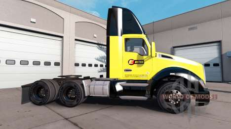 Estes skin for Kenworth tractor for American Truck Simulator