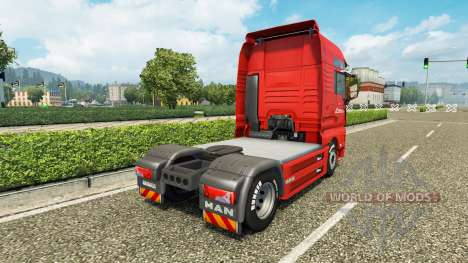 Omega Pilzno skin for MAN truck for Euro Truck Simulator 2