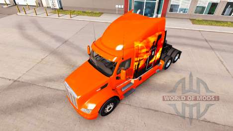 Cowboy skin for the truck Peterbilt for American Truck Simulator