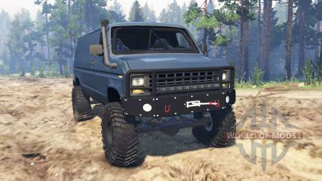 Ford E-350 1990 for Spin Tires
