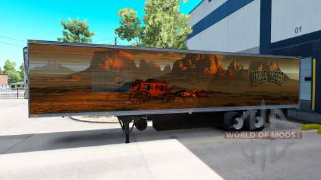 Skin Wild West for the trailer for American Truck Simulator