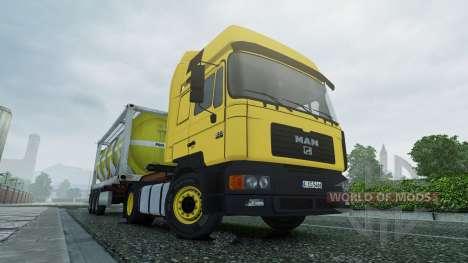 MAN F2000 v2.0 for Euro Truck Simulator 2