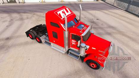 Skin Transco Lines on trucks and Peterbilt Kenwo for American Truck Simulator
