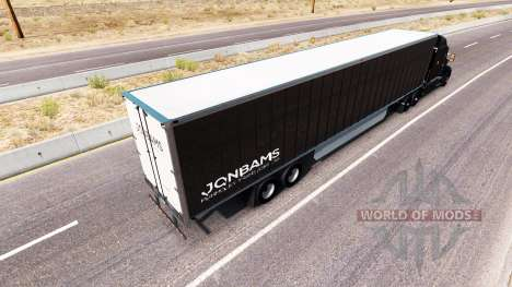 JonBams skin for the truck Peterbilt for American Truck Simulator