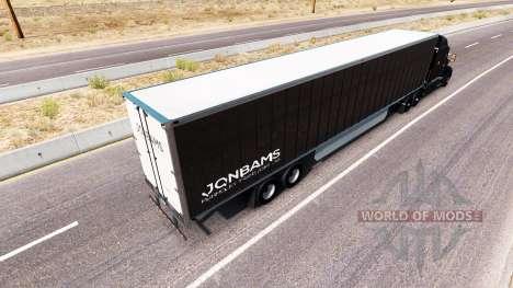 JonBams skin for the truck Peterbilt for American Truck Simulator