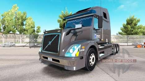 Skin on Knight Refridgeration truck Volvo VNL670 for American Truck Simulator