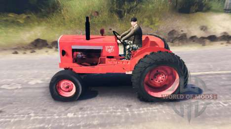 Valmet 565 for Spin Tires