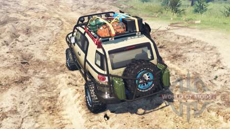 Toyota FJ Cruiser for Spin Tires
