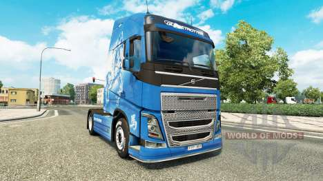 Skin Year of the Horse at Volvo trucks for Euro Truck Simulator 2